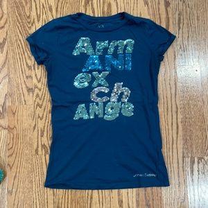 Armani exchange T-shirt women size xs good condit